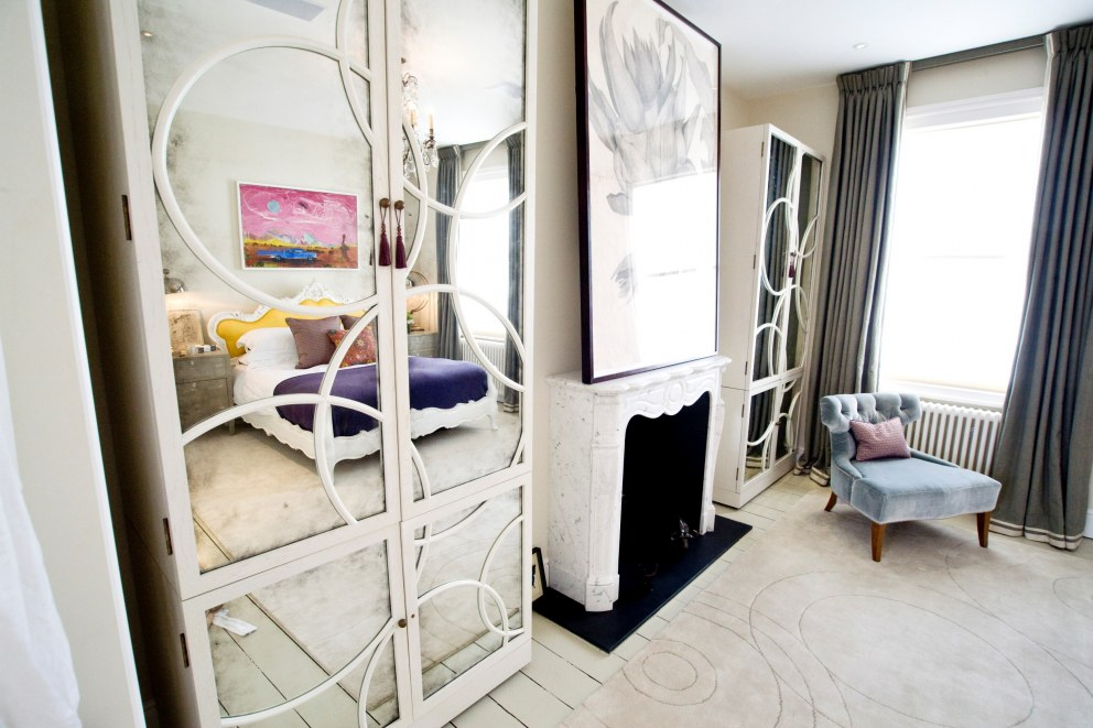 St Maur Road | Master Bedroom | Interior Designers