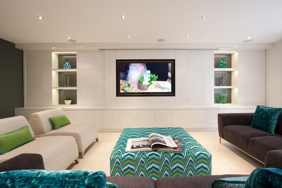 Family home in north london cinema interior designers for Interior designers north london