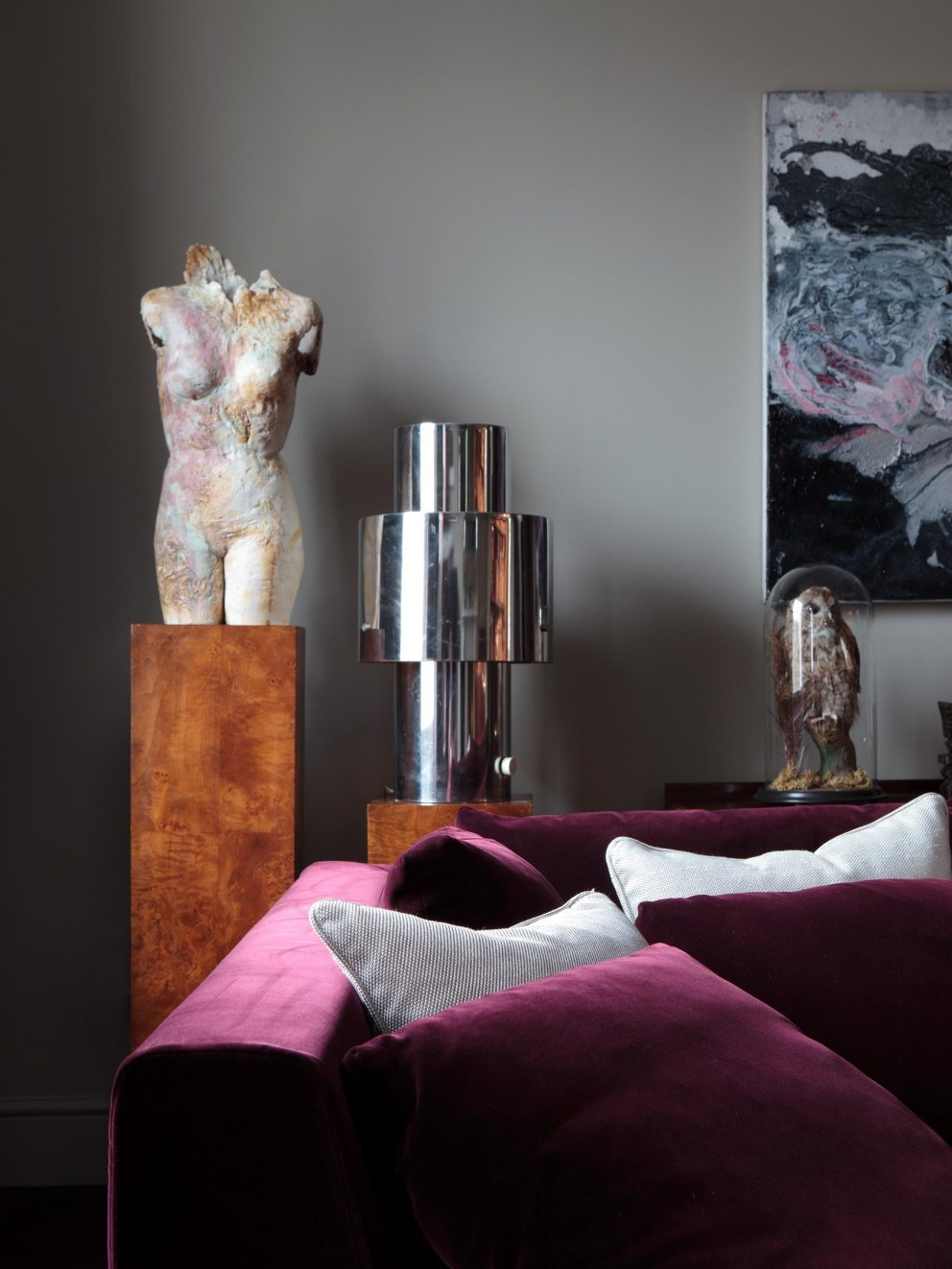 Notting Hill Residence | Reception Detail | Interior Designers