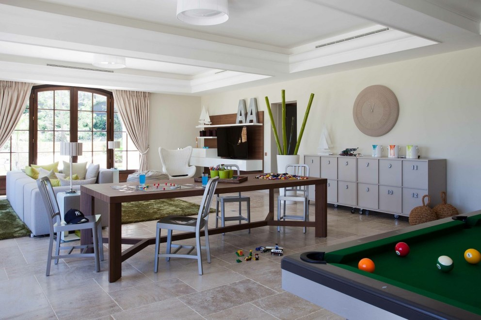 South of France | Sophisticated play room | Interior Designers