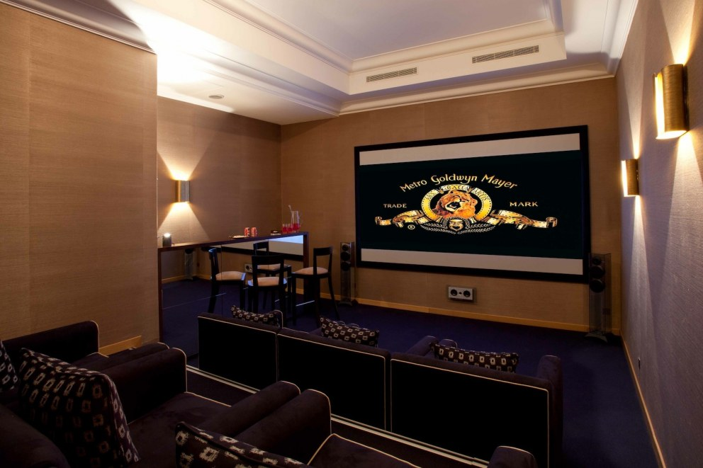 South of France | Cinema room | Interior Designers