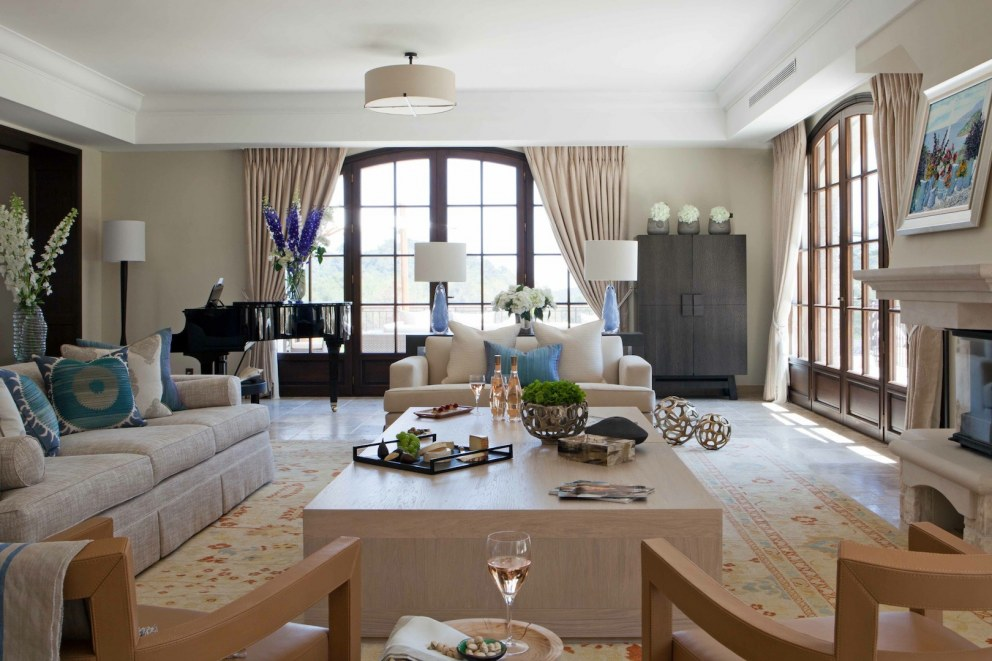 South of France | Living room | Interior Designers