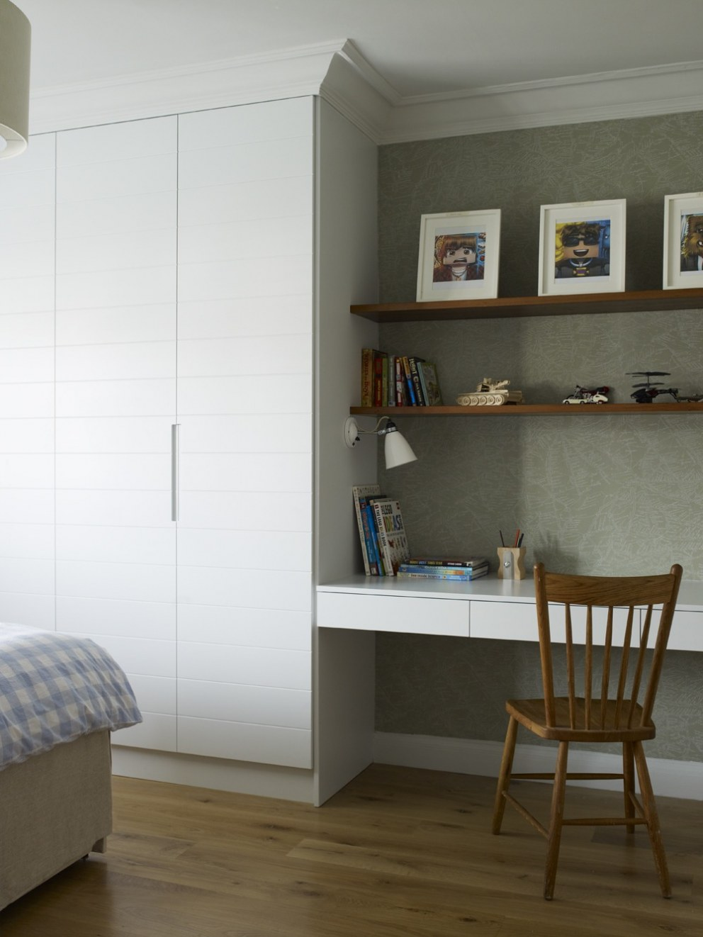 Arts and crafts home in north london boy 39 s room for Interior designers north london