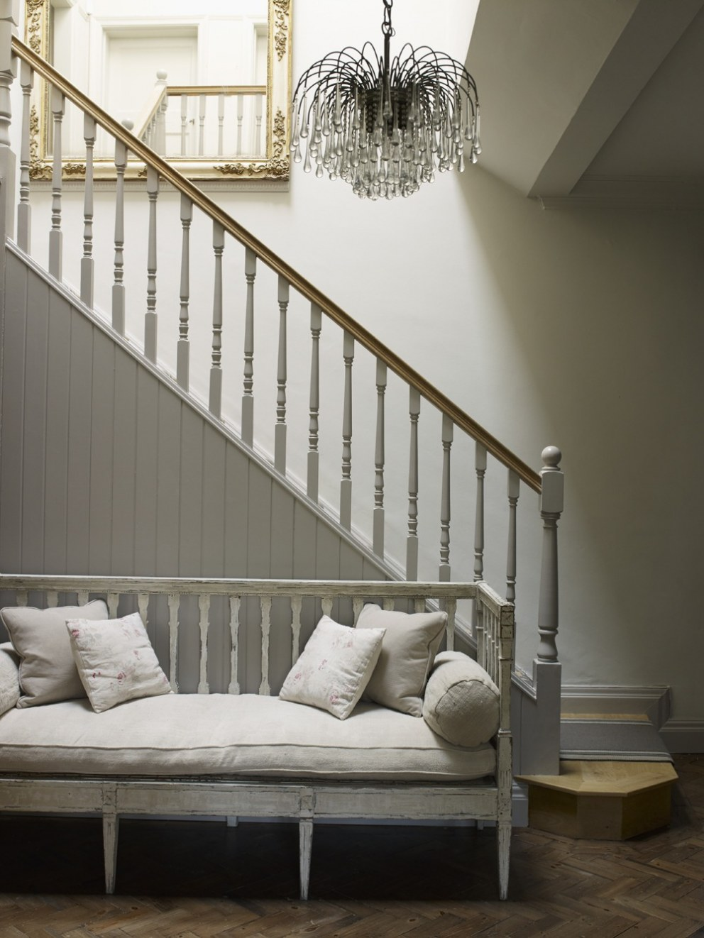 Arts and crafts home in north london hall interior for Interior designers north london