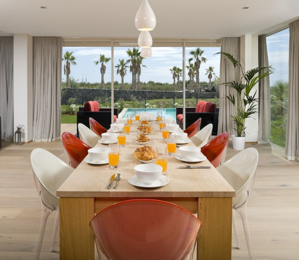 French Villas | Dining area | Interior Designers