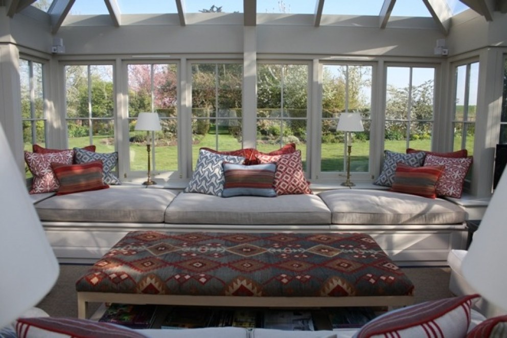 A conservatory for relaxed family living, Essex | Conservatory | Interior Designers