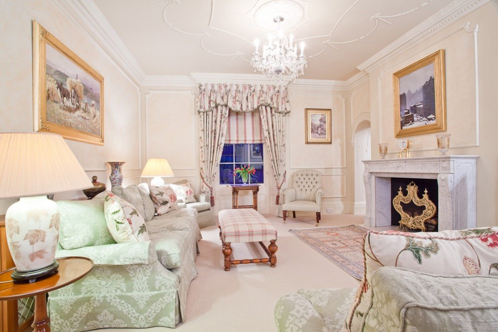 Country Manor | Sitting Room | Interior Designers