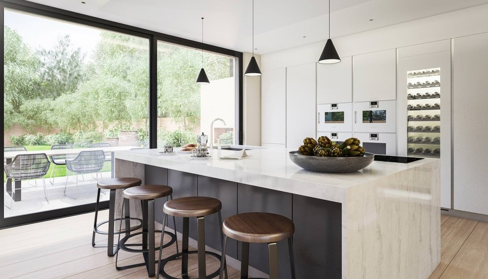 Victorian Villa - Highgate | Boffi kitchen detail | Interior Designers