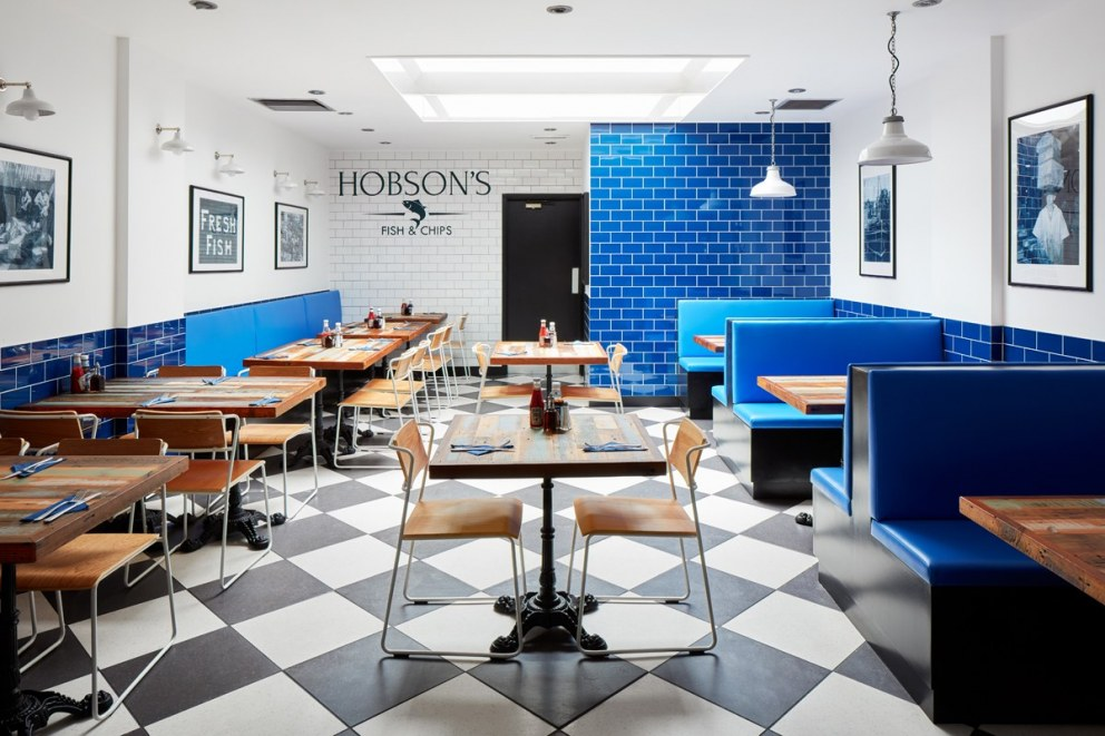 Hobson S Fish And Chips Hobson S Fish And Chips Interiordesigners Net