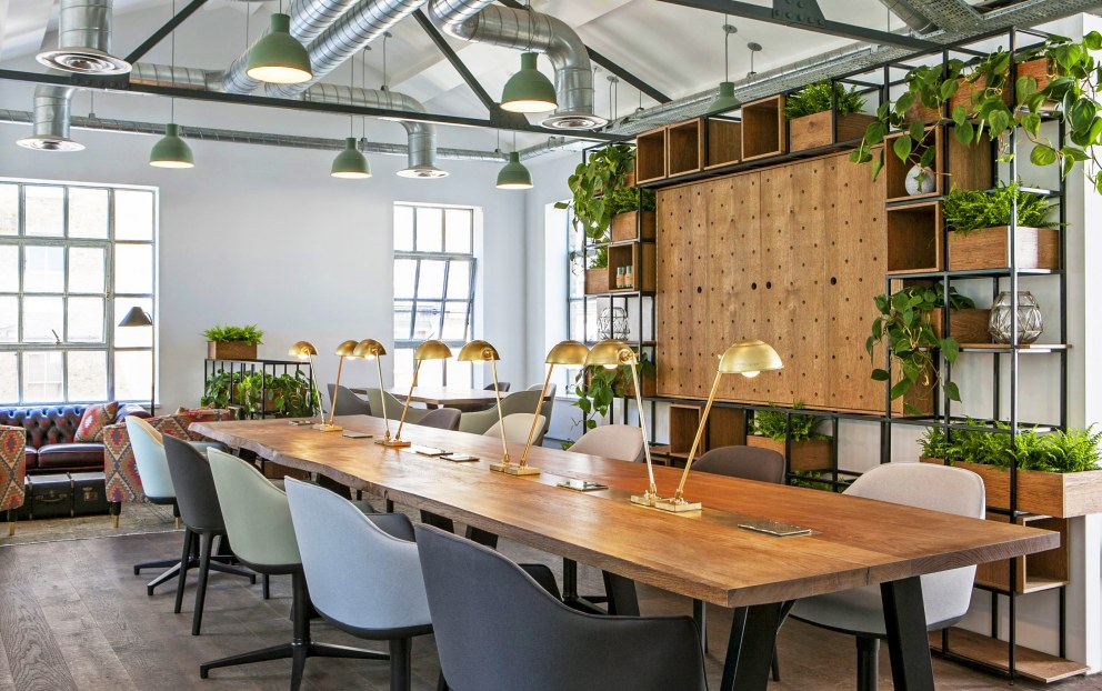 Clerkenwell Offices  | Clerkenwell Offices - Bespoke desk and shelving | Interior Designers