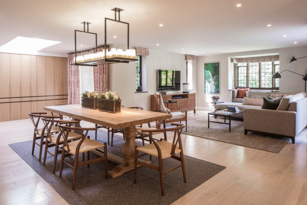 Richmond family home | Informal Dining Room | Interior Designers