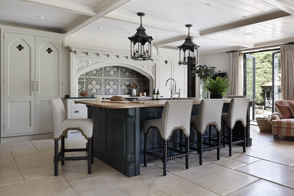 A mock tudor style house  | Kitchen | Interior Designers