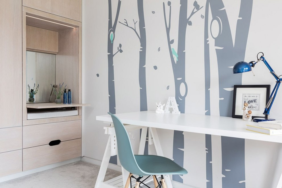 West London contemporary build | Contemporary children's room | Interior Designers