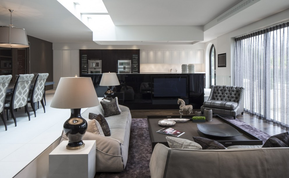 Broad Walk Family Residence, Winchmore Hill | Broad Walk Informal Living Room | Interior Designers