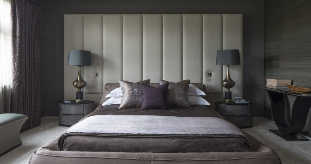 Broad Walk Family Residence, Winchmore Hill | Broad Walk Master Bedroom | Interior Designers