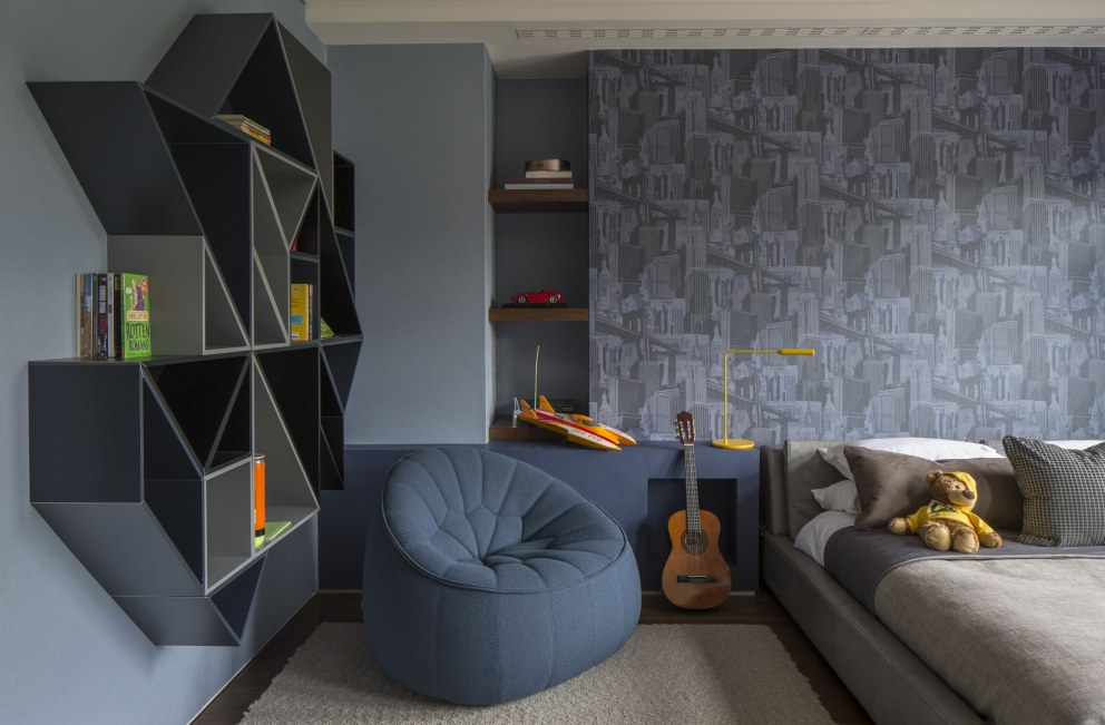 Broad Walk Family Residence, Winchmore Hill | Broad Walk Children's Bedroom | Interior Designers