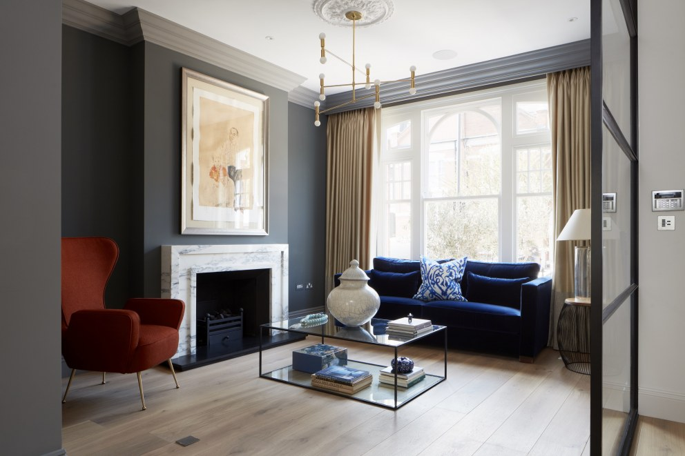 Chiddingstone Street | Chiddingstone Living Room | Interior Designers