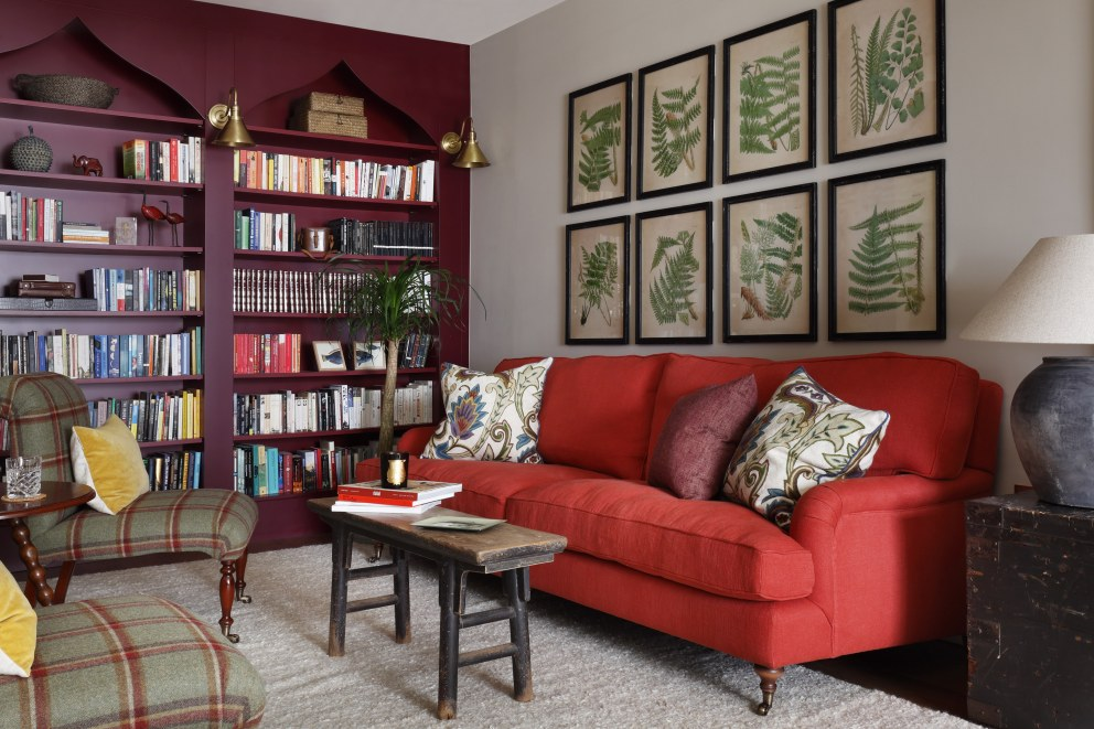 Hillgate Place  | Living Room | Interior Designers