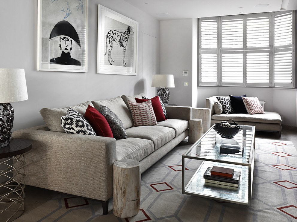 The Little Boltons | Living Room | Interior Designers