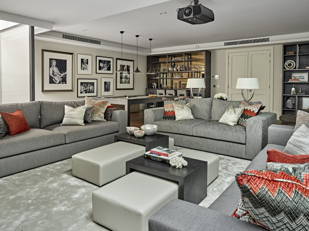 Barnes family house | Living room | Interior Designers