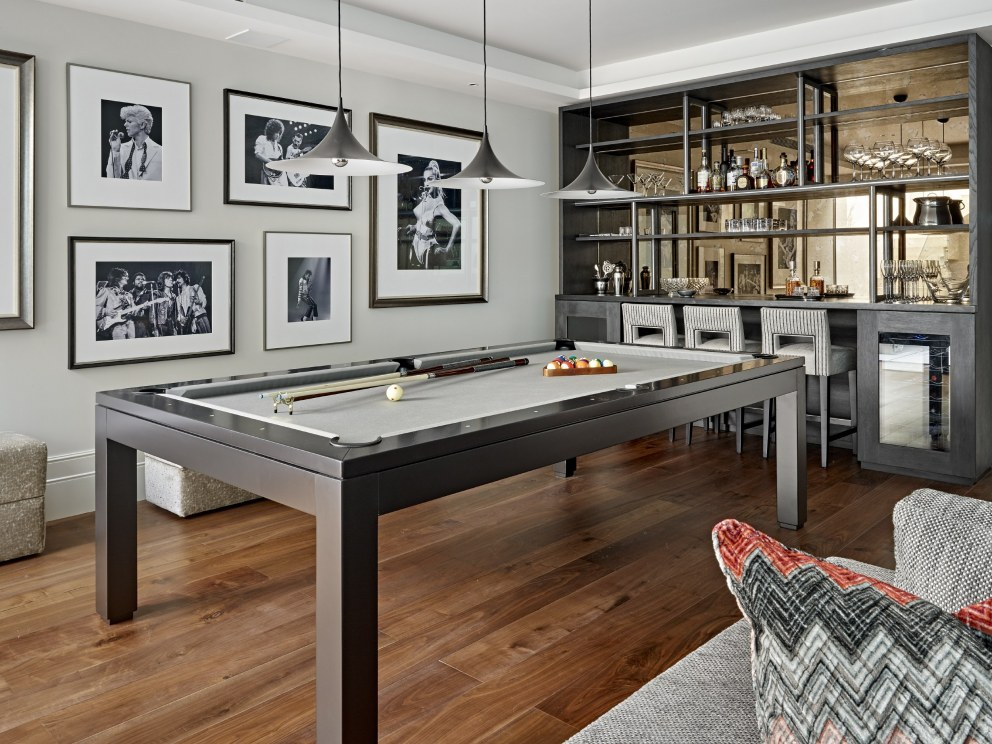 Barnes family house | Games room | Interior Designers
