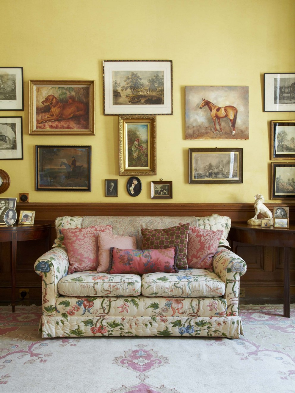 Oxford Manor House | Family Room | Interior Designers
