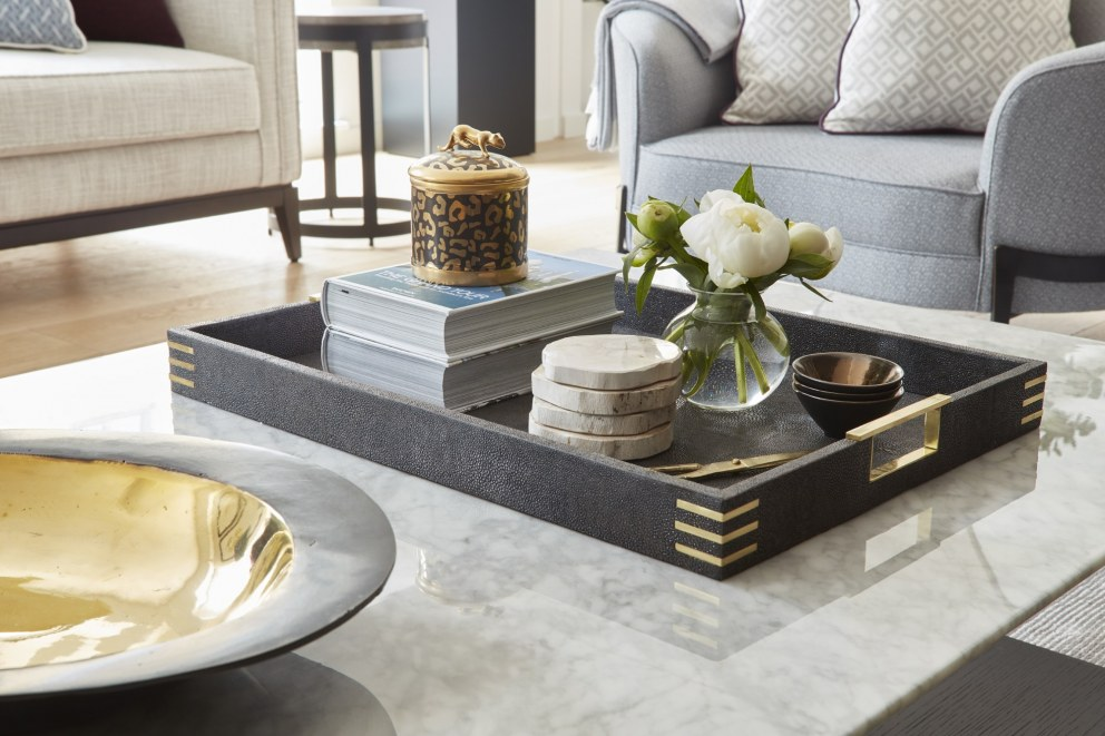 Central London Pied a Terre | Coffee table detail | Interior Designers