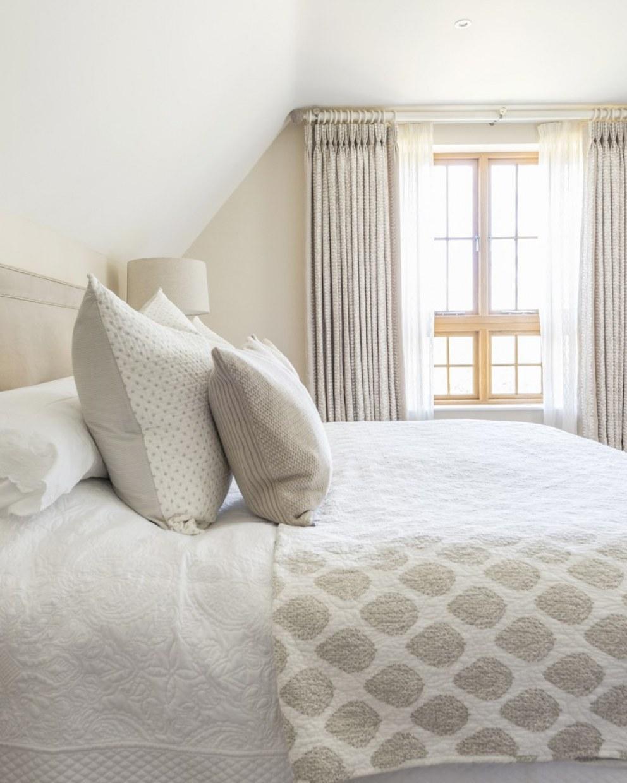 Master Bedroom Curtains Country Home Hambleden Valley Interiordesigners Net