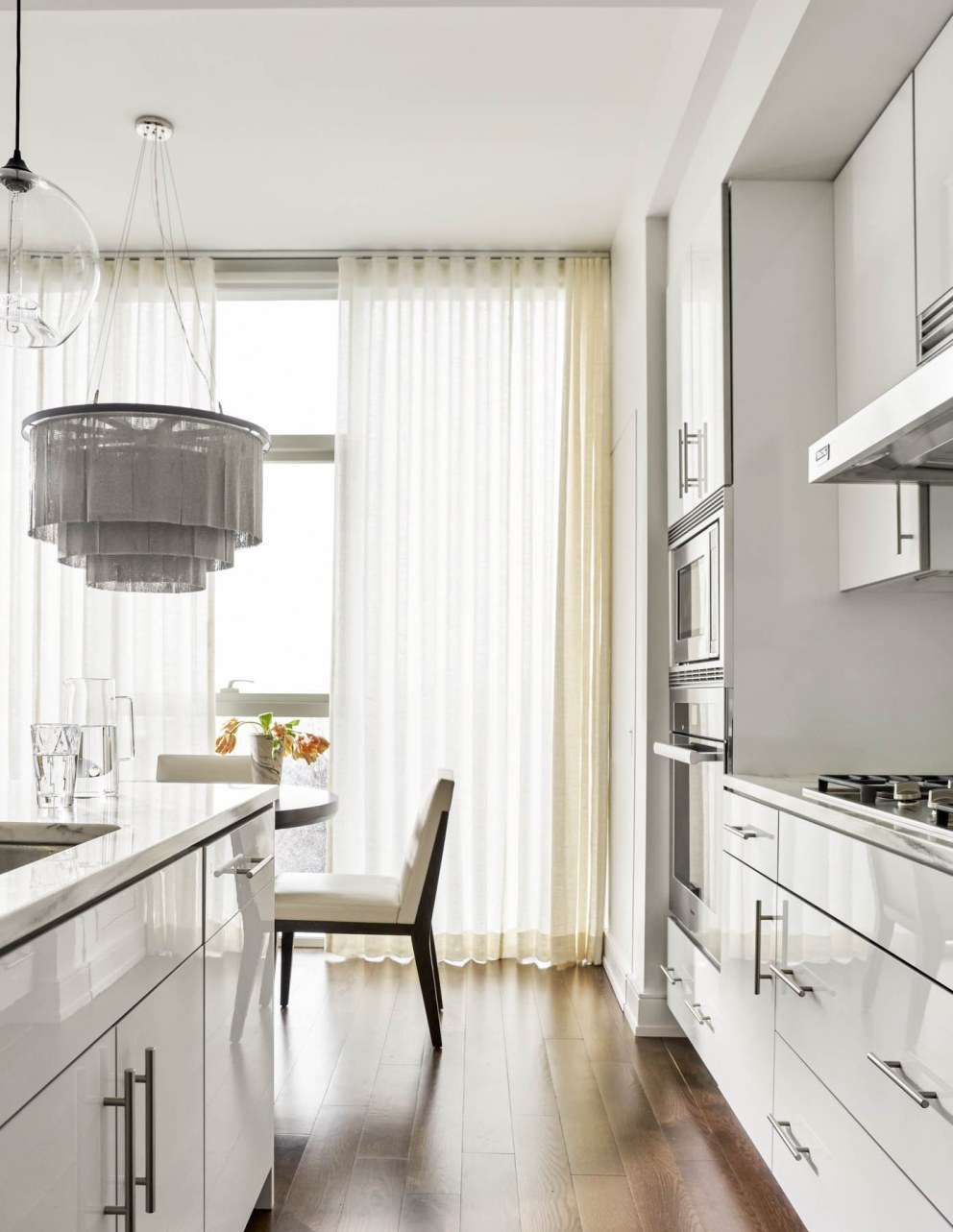 Penthouse: Luxury Living | Kitchen   | Interior Designers