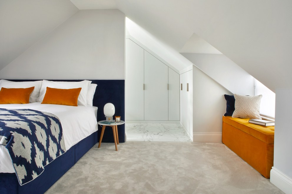 Notting Hill Mews  | Attic Room  | Interior Designers