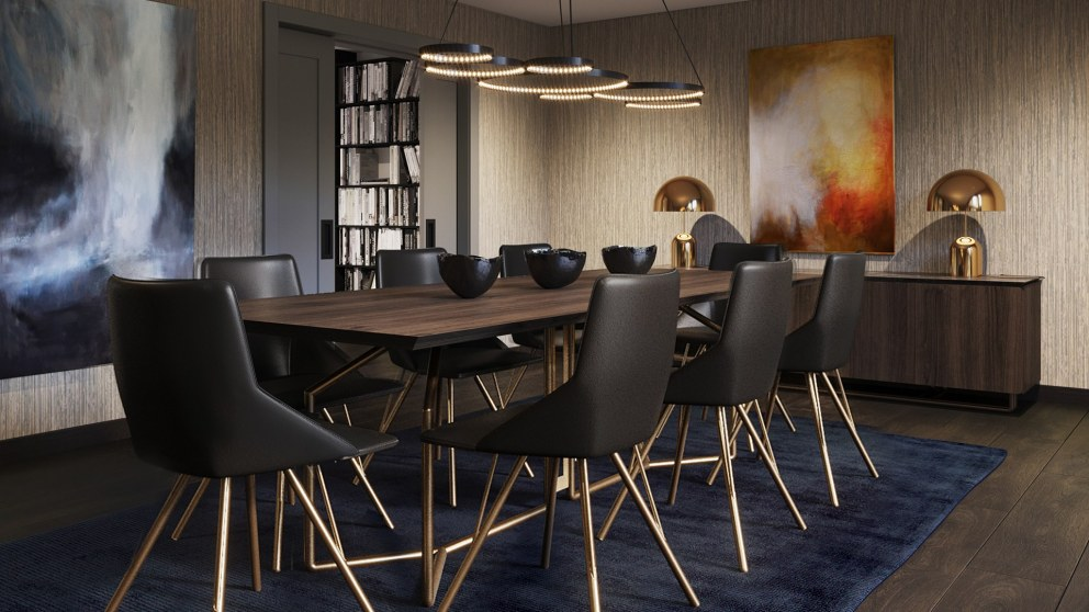 Richmond - Luxury Private Residence | Formal Dining Room | Interior Designers