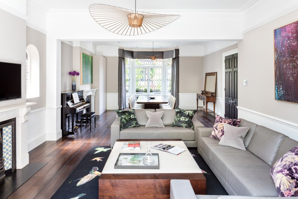 Hampstead Home | Living/Dining Room | Interior Designers