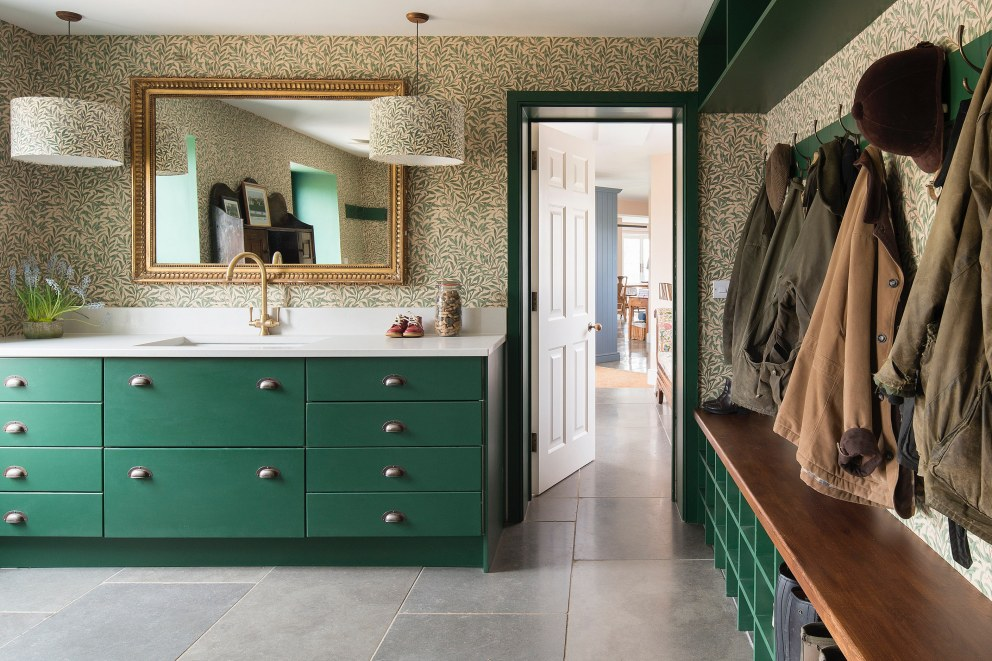Family Country House in Wiltshire | Boot Room | Interior Designers