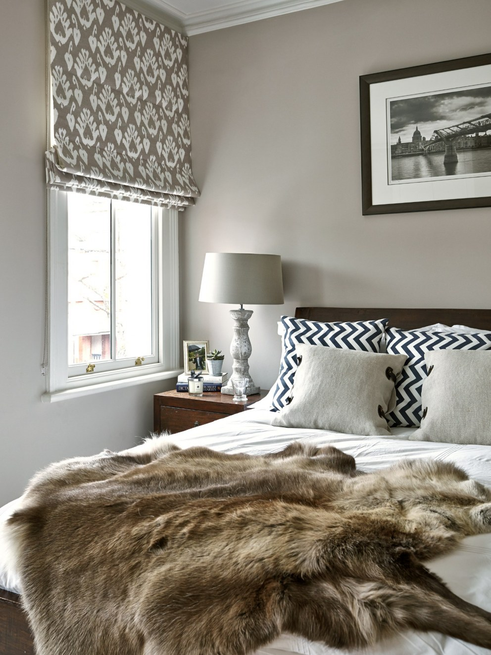 Barnes Town House | Guest bedroom | Interior Designers