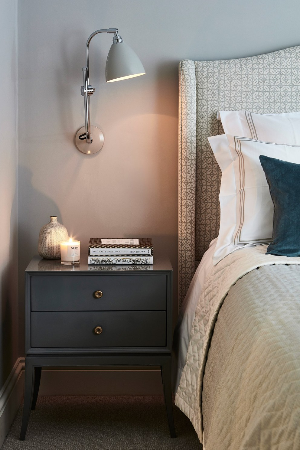 Parsons Green  | Guest bedroom 2  | Interior Designers