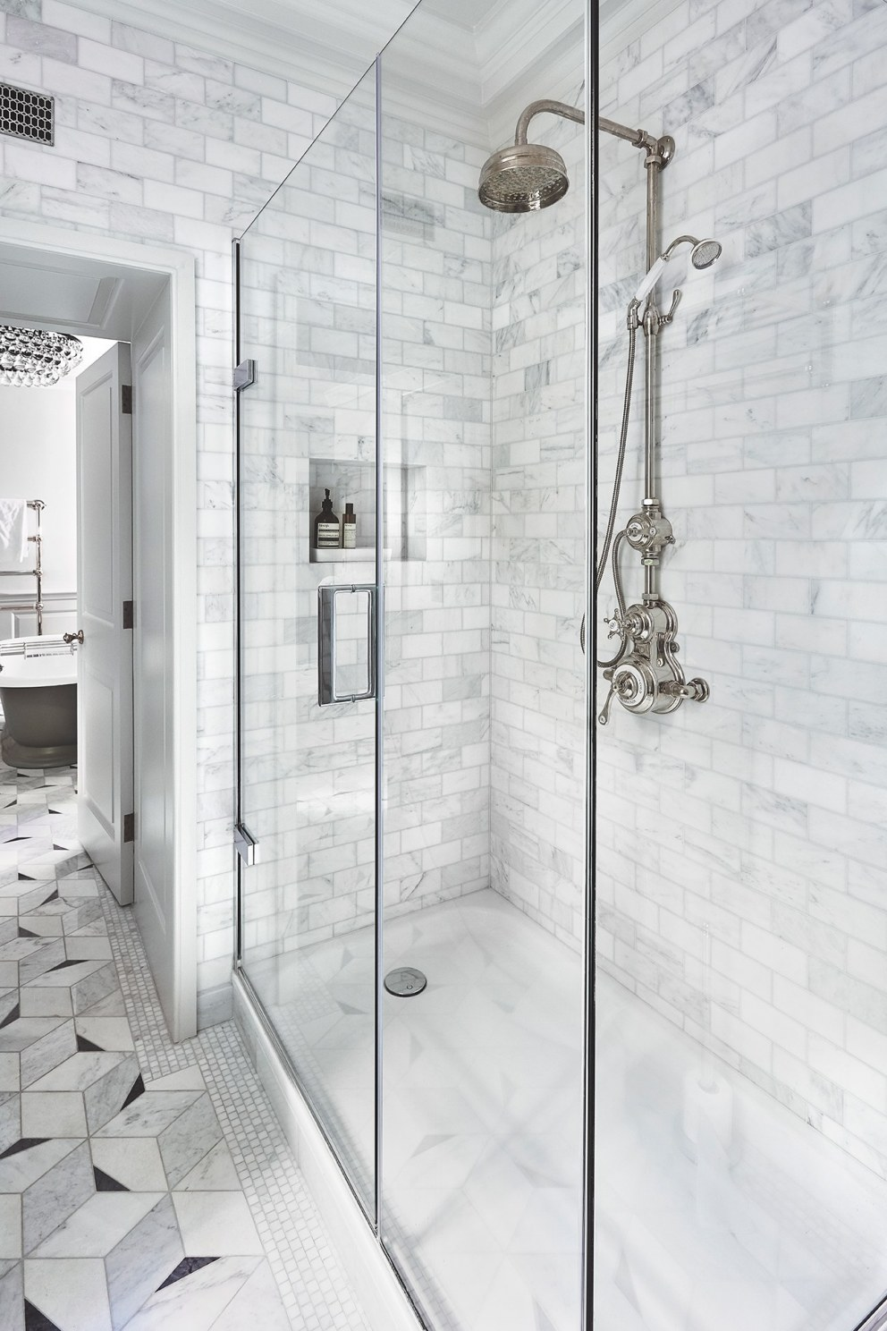 Soho  | Master shower room  | Interior Designers