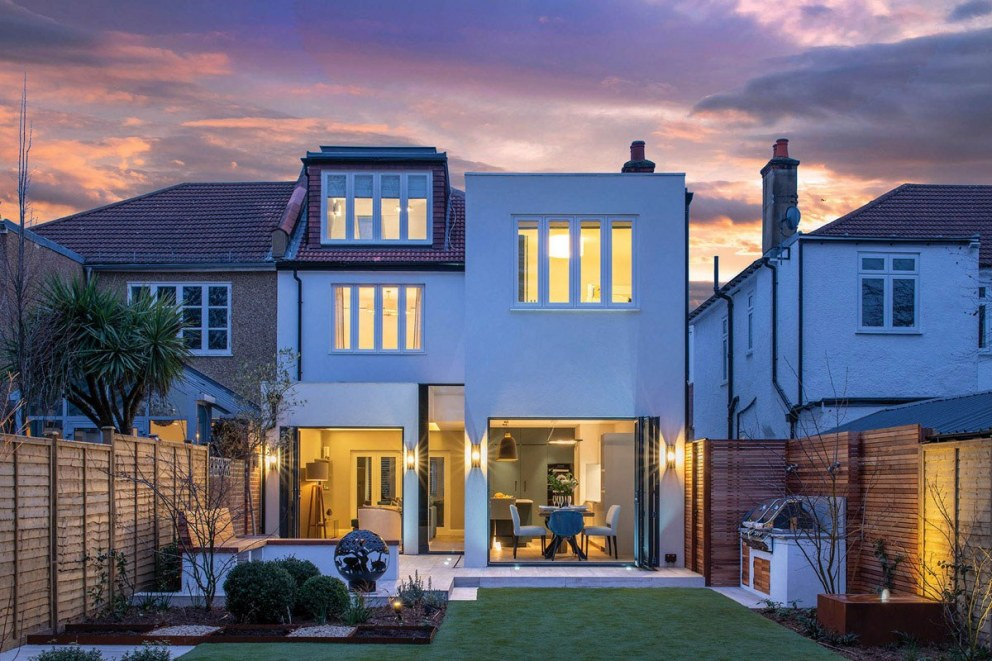 Indoor-Outdoor West London Family Home | Extension exterior view | Interior Designers