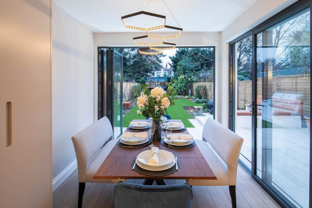 Indoor-Outdoor West London Family Home | Dining Area | Interior Designers