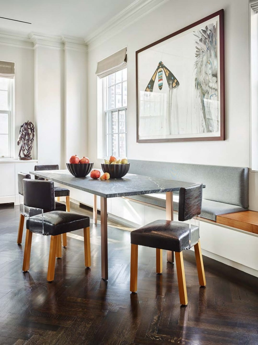New York Duplex | Breakfast room | Interior Designers