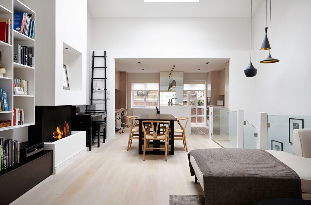 Contemporary St. John's Wood Townhouse | Living Area | Interior Designers
