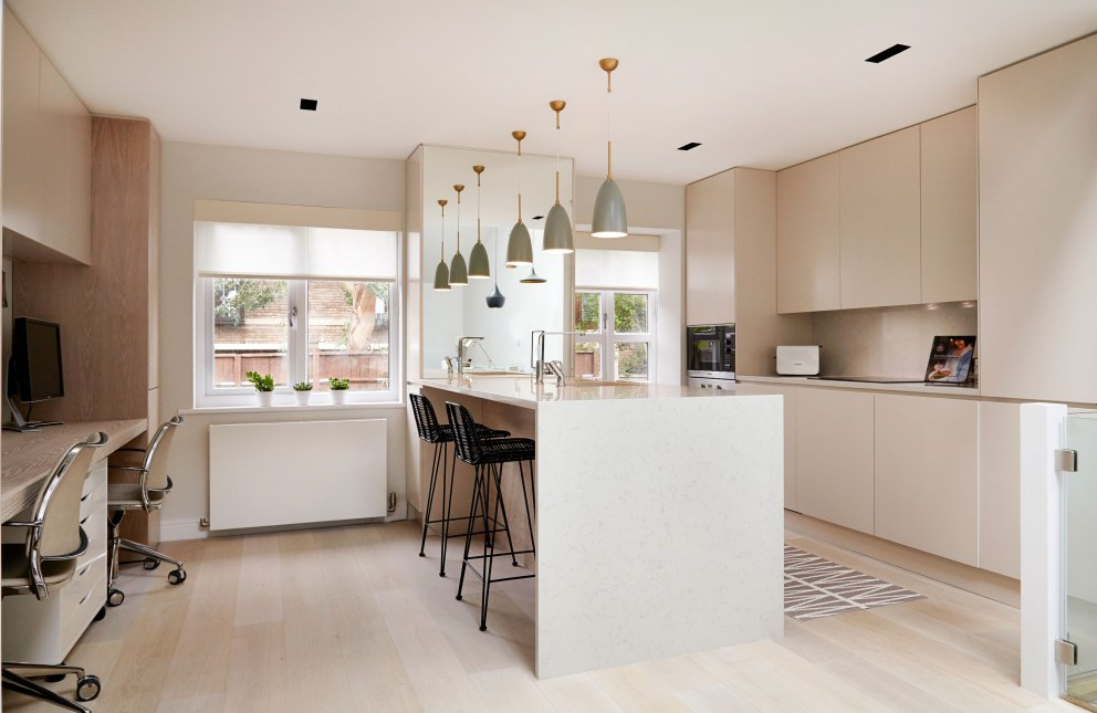 Contemporary St. John's Wood Townhouse | Kitchen | Interior Designers