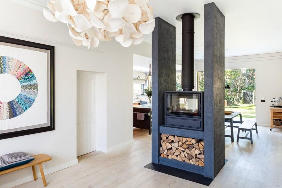 Log Burner Large Home In South East London Interiordesigners Net