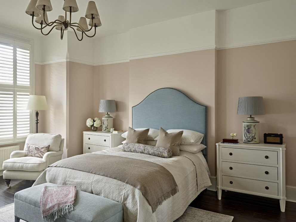 South West London,  Period Property | Master Bedroom | Interior Designers