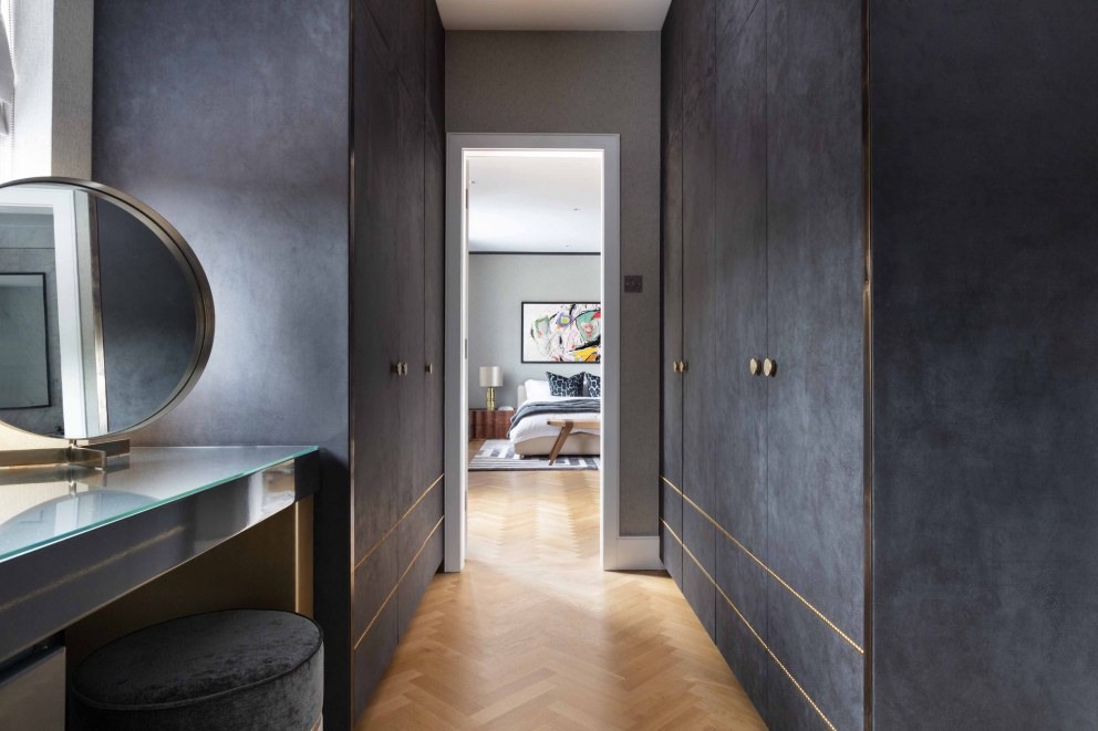 London Family Home | Master Dressing Room | Interior Designers