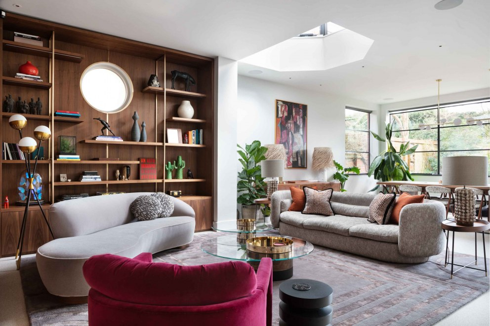 London Family Home | Open Plan Living Space | Interior Designers