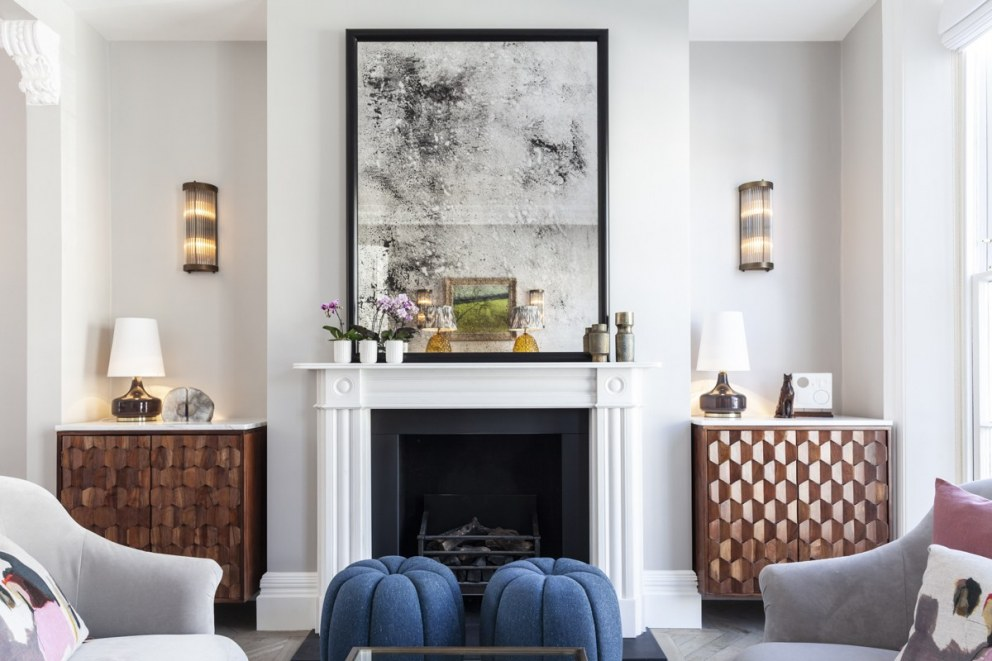 Georgian townhouse in Chelsea | Drawing room | Interior Designers