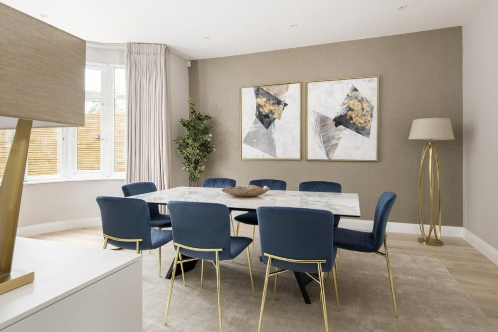 Kensington luxury family home | Dining room | Interior Designers