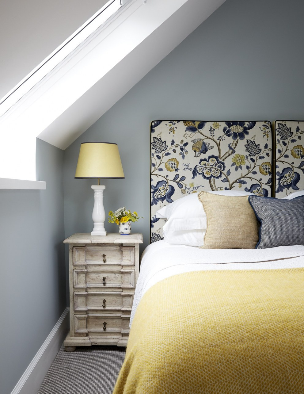 Scottish Holiday Cottages | Yellow Bedroom | Interior Designers