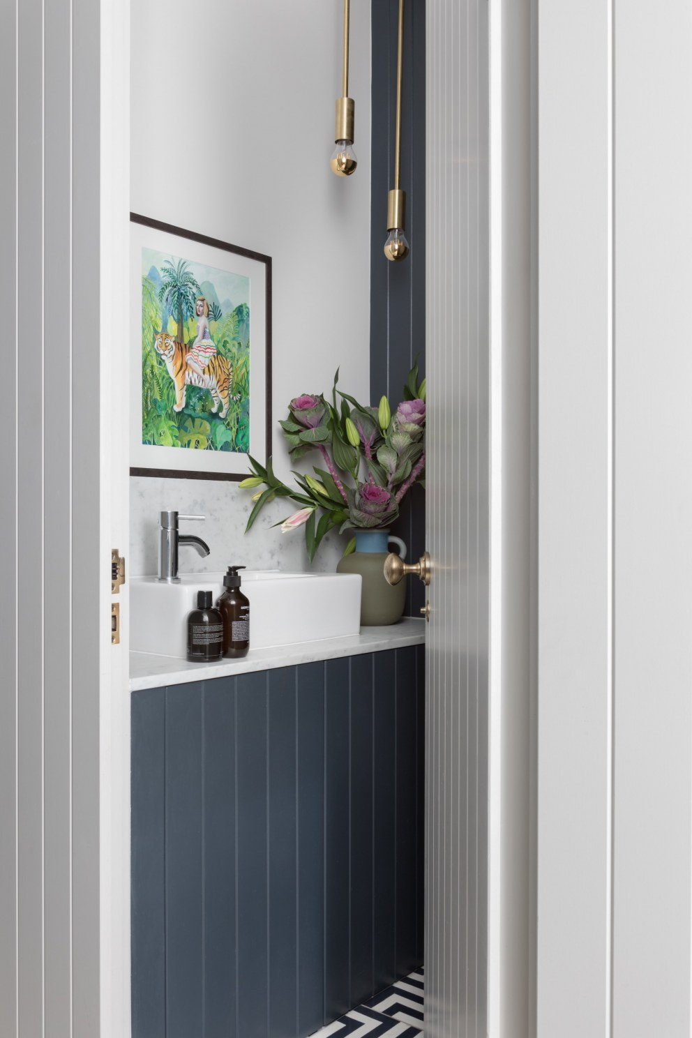 Stoke Newington Family Home | Downstairs Toilet | Interior Designers
