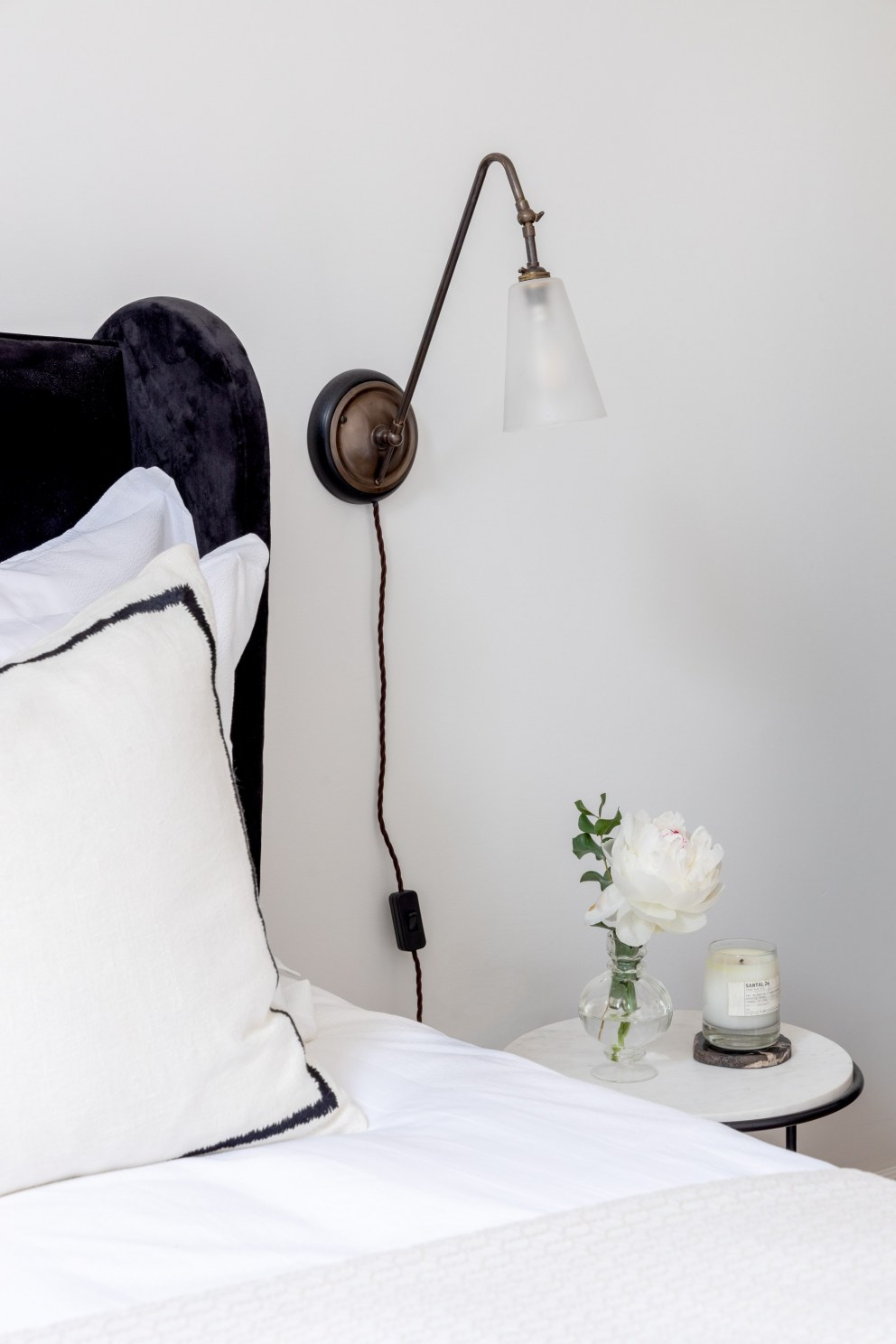 No.5 | Guest Bedroom Detail | Interior Designers